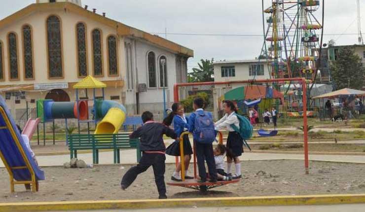 Coop. Juan Eulogio: Barrio El Cisne está de fiesta