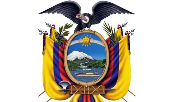 Escudo, Ecuador, 31 de Octubre,