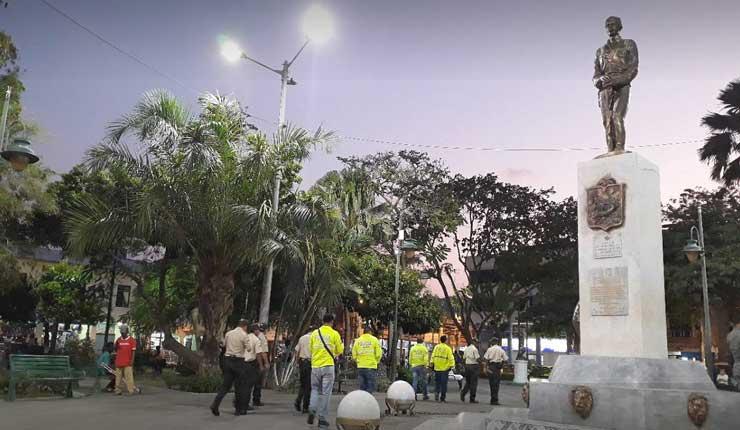 Robos y drogas en el parque central de Esmeraldas