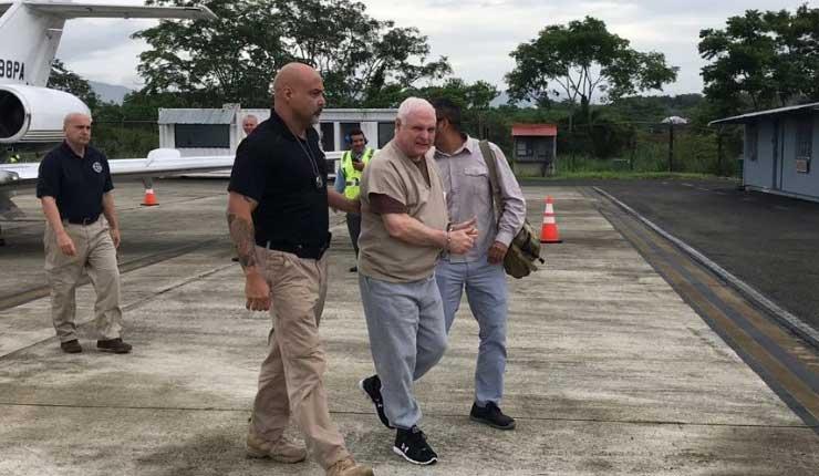 Expresidente de Panamá fue detenido por supuesto espionaje