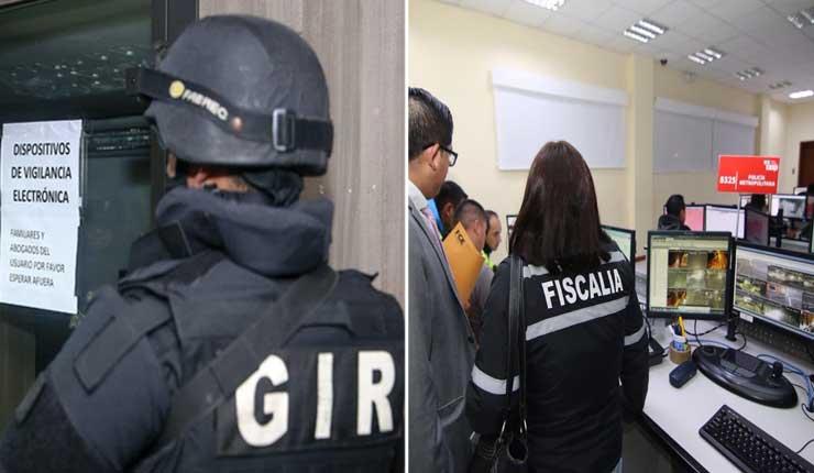 Fiscalía allana organismos del estado tras fuga de Fernando Alvarado
