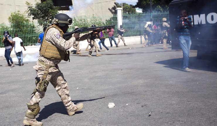 Haití: dos muertos, decenas de heridos en protestas