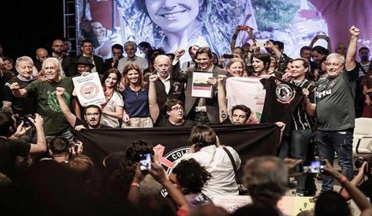 Fernando Haddad obtiene el respaldo de las hinchadas de fútbol para comicios brasileños