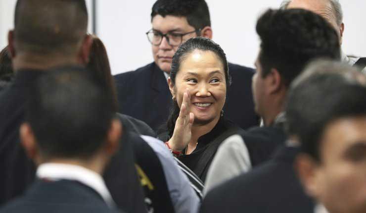 Perú: Corte libera a la excandidata Keiko Fujimori
