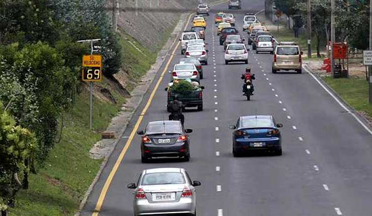 La Agencia Metropolitana de Tránsito utiliza 18 fotorradares, para control de velocidad en Quito