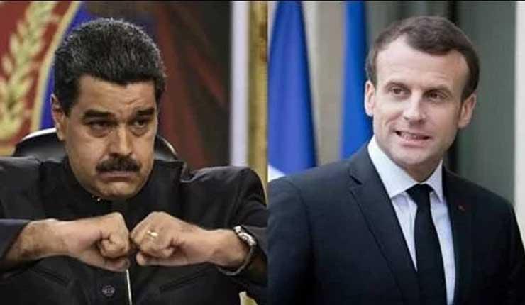 Nicolás Maduro acusó a Francia de promover un cambio de gobierno en Venezuela