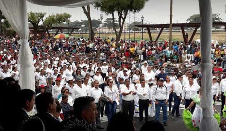 Red de Maestros pide incremento salarial y rechaza sumarios administrativos