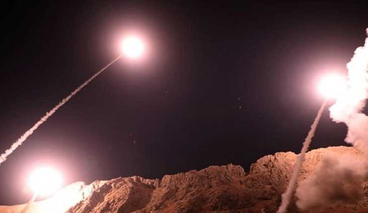 Irán lanza misiles contra terroristas en Siria en represalia de un atentado