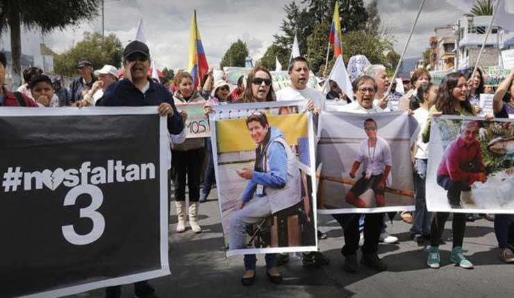 CIDH emitirá primer informe sobre secuestro de periodistas