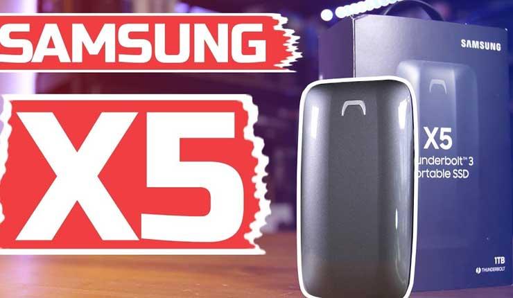 Samsung X5, Ciencia, Tecnología, Thunderbolt 3,
