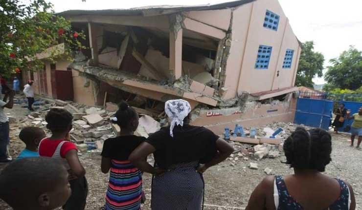 Aumenta a 15 los muertos y a 333 los heridos en Haití por terremoto