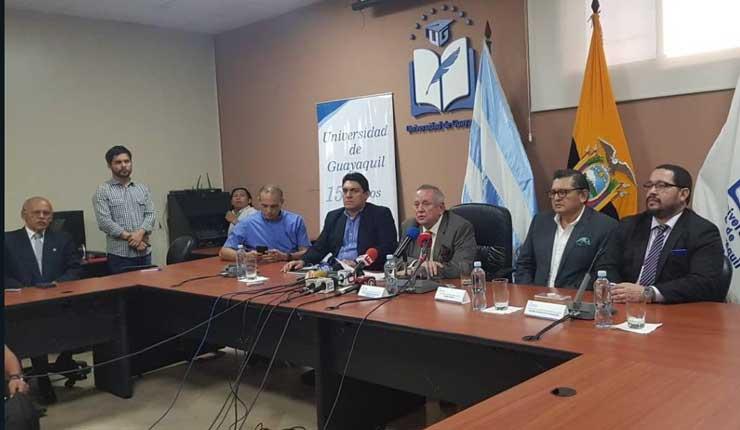 Designan a 14 nuevos decanos en la Universidad Estatal de Guayaquil