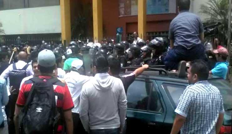 Se registran enfrentamientos en la Universidad de Guayaquil
