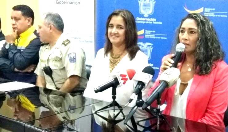 Mary Verduga del Movimiento AP, se reunirá para definir si se sanciona o no a Norma Vallejo