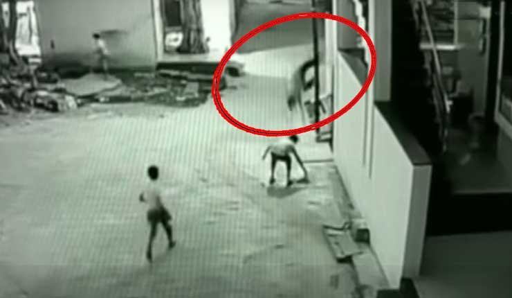 Niño salva la vida de su amigo accidentalmente