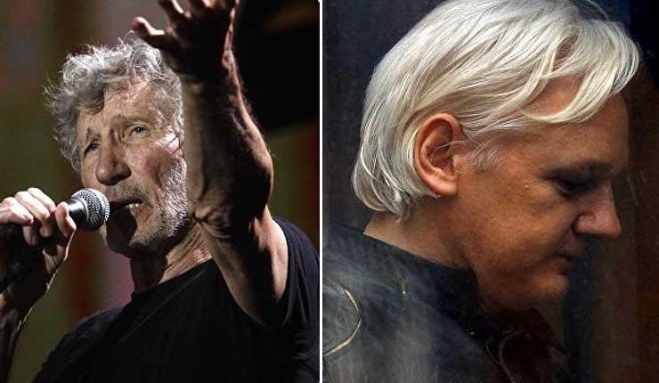 Ex vocalista de Pink Floyd, Roger Waters pide a gobierno ecuatoriano que no retire el asilo a Assange