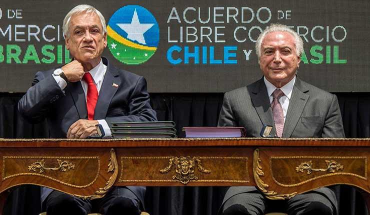 Chile y Brasil firman TLC que eliminará el roaming entre los dos países