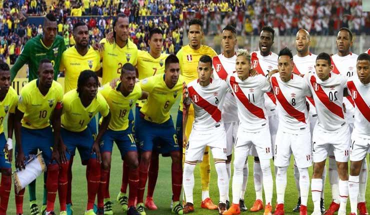Selección de Ecuador se prepara para enfrentarse a Perú en partido amistoso