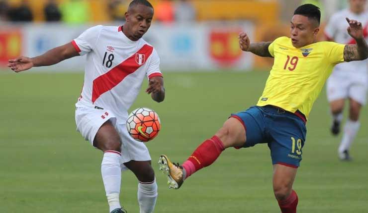 HOY: Ecuador enfrenta a Perú en partido amistoso
