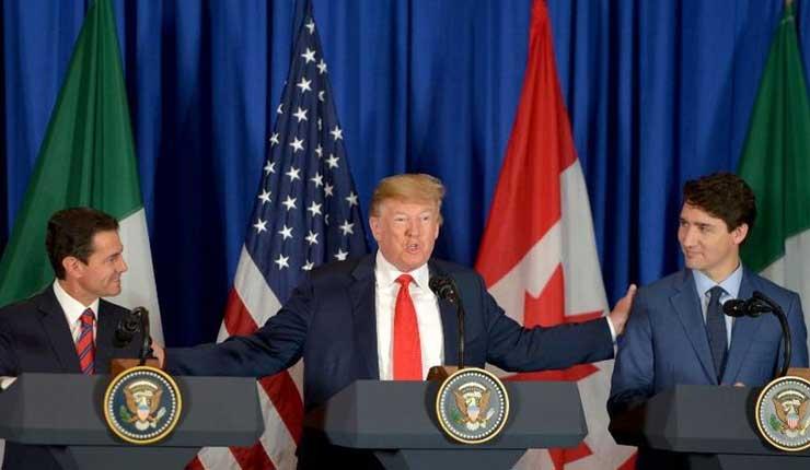 EEUU, México y Canadá sellan nuevo TLC y Trump celebra su victoria