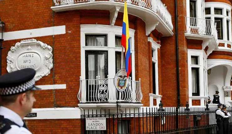 Moreno cesa en funciones a embajador en Londres