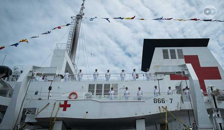 Buque Hospital Arca de la Paz, que atenderá gratuitamente a 3.200