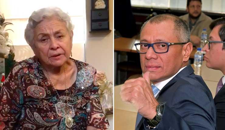 Madre de Jorge Glas pide a diputados españoles para que intercedan, por la libertad de su hijo