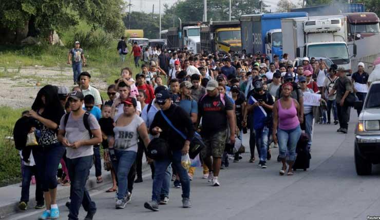 Migrantes marcharán en demanda de buses para llegar a EEUU