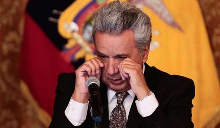 ECUADOR: El 52% desaprueban la gestión del presidente Lenin Moreno y el 59.3% no cree en su palabra