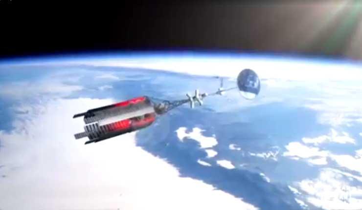 Rusia muestra una nueva nave espacial con planta de energía nuclear