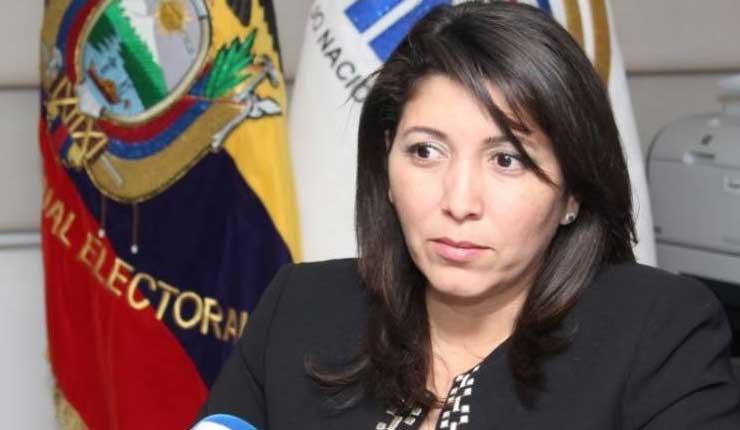 Expresidenta del CNE demandará al CPCCS-T