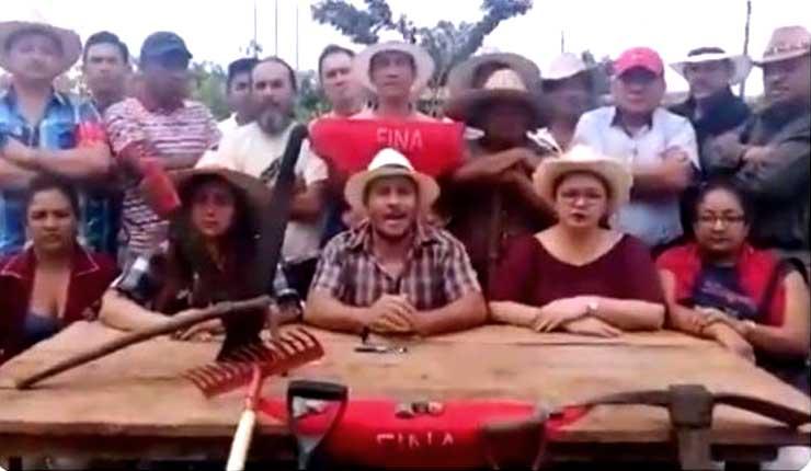 Sector campesino anuncia paro nacional indefinido