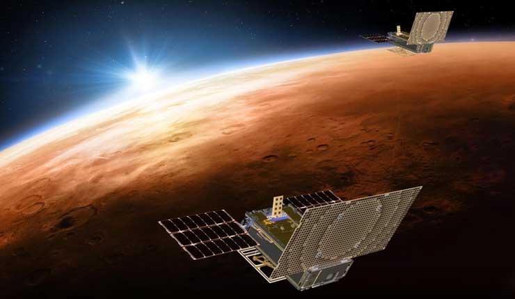 Crucial prueba para satélites que siguen sonda marciana