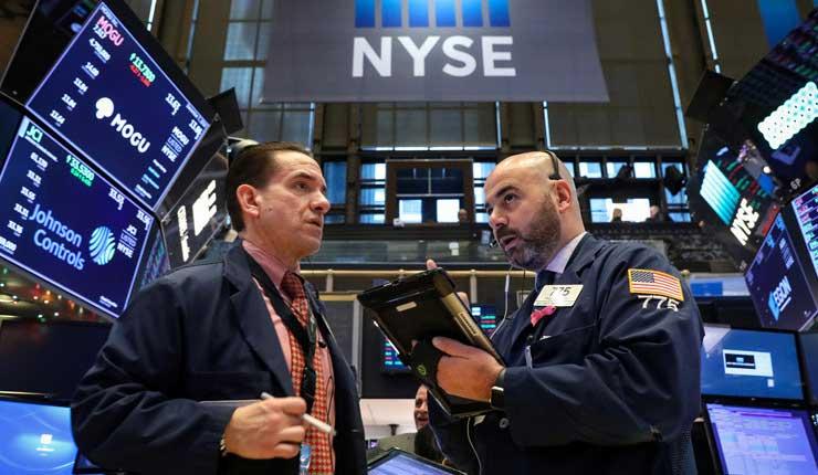 Los mercados vuelven a caer y el Dow Jones reduce su valor en más de 500 puntos