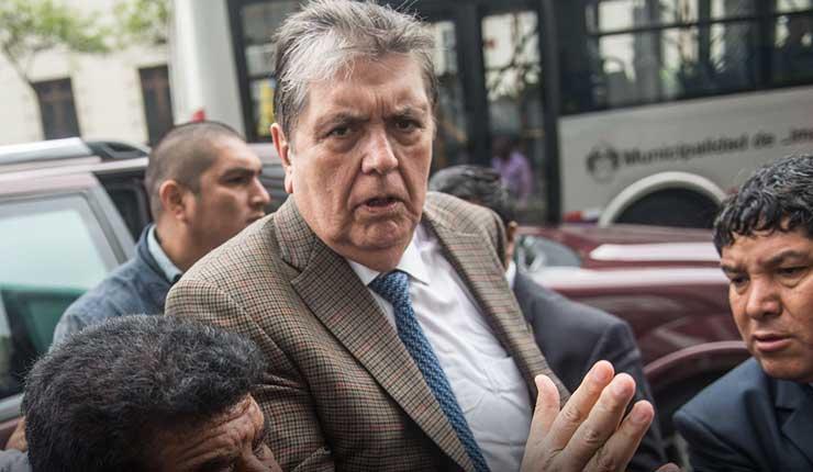 Uruguay rechaza pedido de asilo de expresidente peruano Alan Garcia