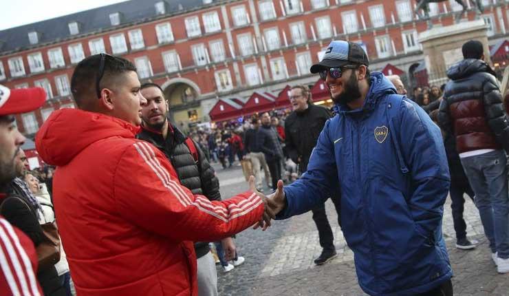 Dos semanas después, la Libertadores se define en Madrid