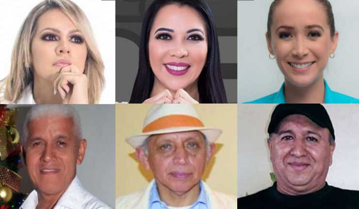 Rostros conocidos de Santo Domingo participarán en elecciones seccionales