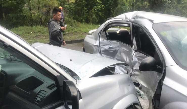 Accidente de tránsito deja como saldo un muerto y dos heridos en la vía Cuenca - Gualaceog