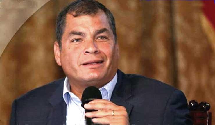 """Rafael Correa ante discurso de Presidente Moreno en China """"Yo heredé apagones, ellos hidroeléctricas"""""""