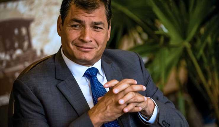 URGENTE: Interpol rechaza petición de Ecuador para arrestar y extraditar a Rafael Correa