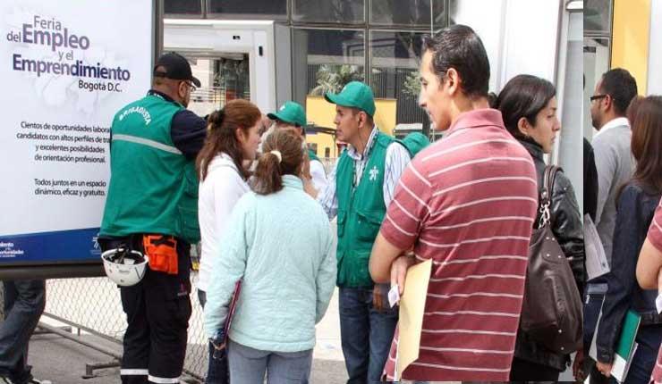 Colombia marco un desempleo de 8.8% en noviembre de 2018