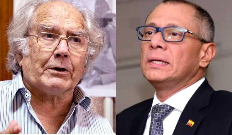 El Premio Nobel de la paz Adolfo Pérez Esquivel envía pide a Lenín Moreno el traslado de ex Vicepresidente Jorge Glas a cárcel en Quito