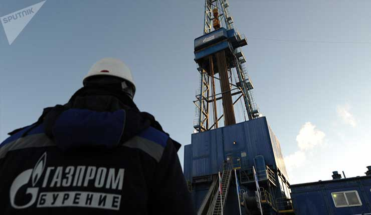 Rusia alcanza nuevo récord en exportación de gas a Europa en 2018