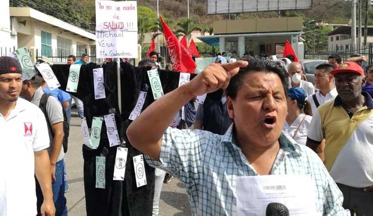 Trabajadores del hospital neumológico Alfredo Valenzuela piden su reapertura