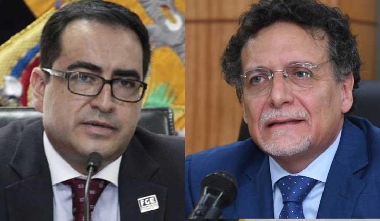 Pablo Celi y Paúl Pérez Reina son indagados por usurpar funciones de Contralor y Fiscal General