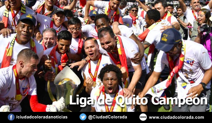 Liga de Quito Campeon