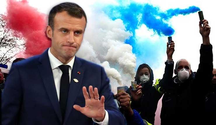 Presidente Macron anunció suspensión del aumento de los impuestos a los combustibles