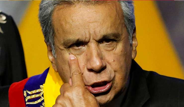 Lenín Moreno, el quita-vicepresidentes