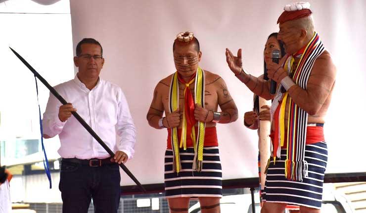 Prefecto de Santo Domingo, se despide con último informe de labores