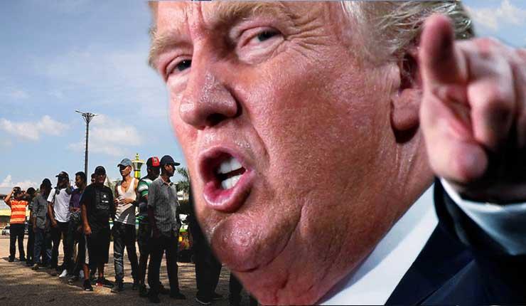 Trump amenaza con quitar ayuda a Guatemala, El Salvador y Honduras